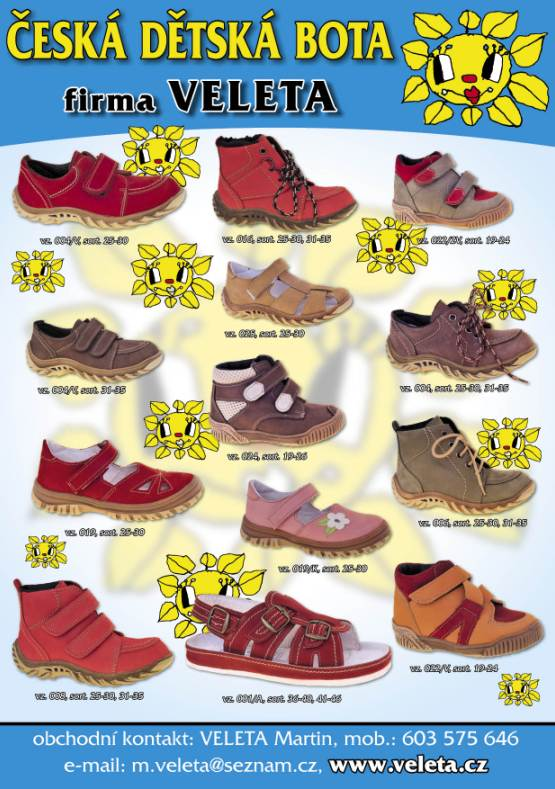 Dětská zdravotní obuv